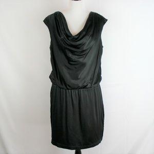 White House Black Market Silk Blend Drape Blouson